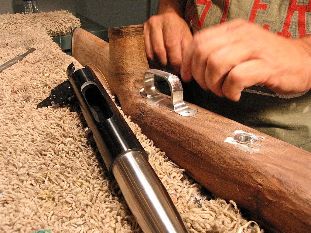 WoodWorking | Doan Trevor Custom Rifle Building