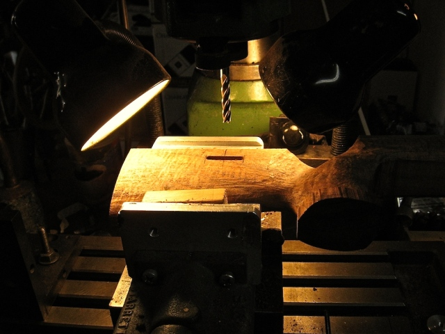 Milling Slot for Thumbwheel