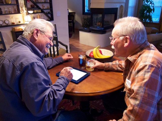 how to use an ipad for seniors