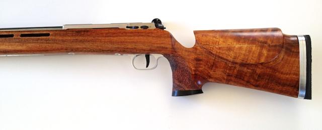Koa Smallbore Rifle w 2000 Anschutz Action IMG_3857