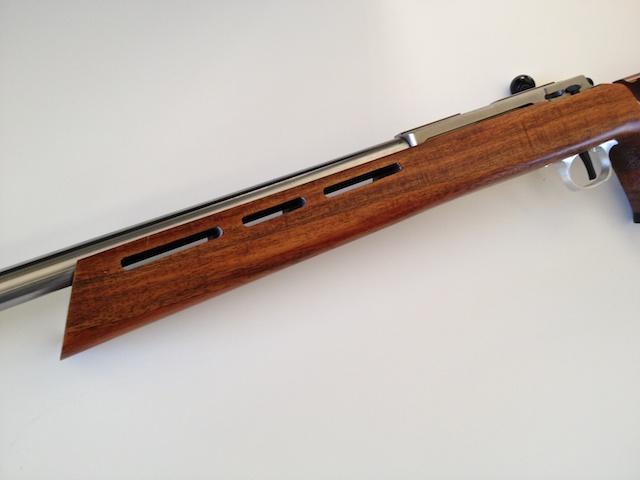 Koa Smallbore Rifle w 2000 Anschutz Action IMG_3860