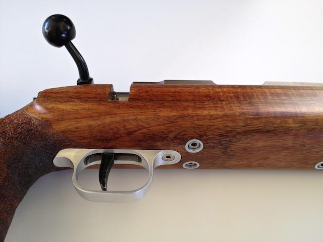 Koa Smallbore Rifle w 2000 Anschutz Action IMG_3863