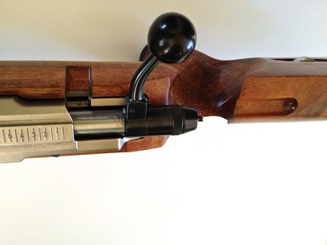 Koa Smallbore Rifle w 2000 Anschutz Action IMG_3865
