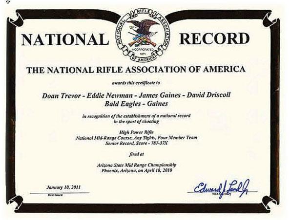 NRA-Certificate
