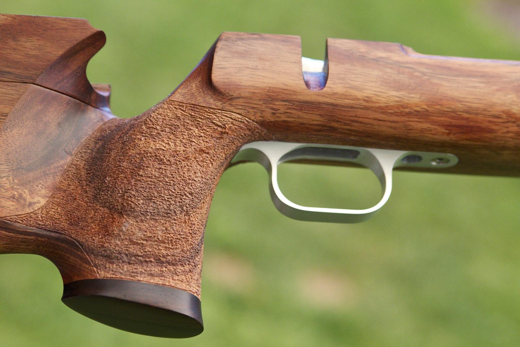 Koa Long Range Rifle Stock With Barnard Action Complete