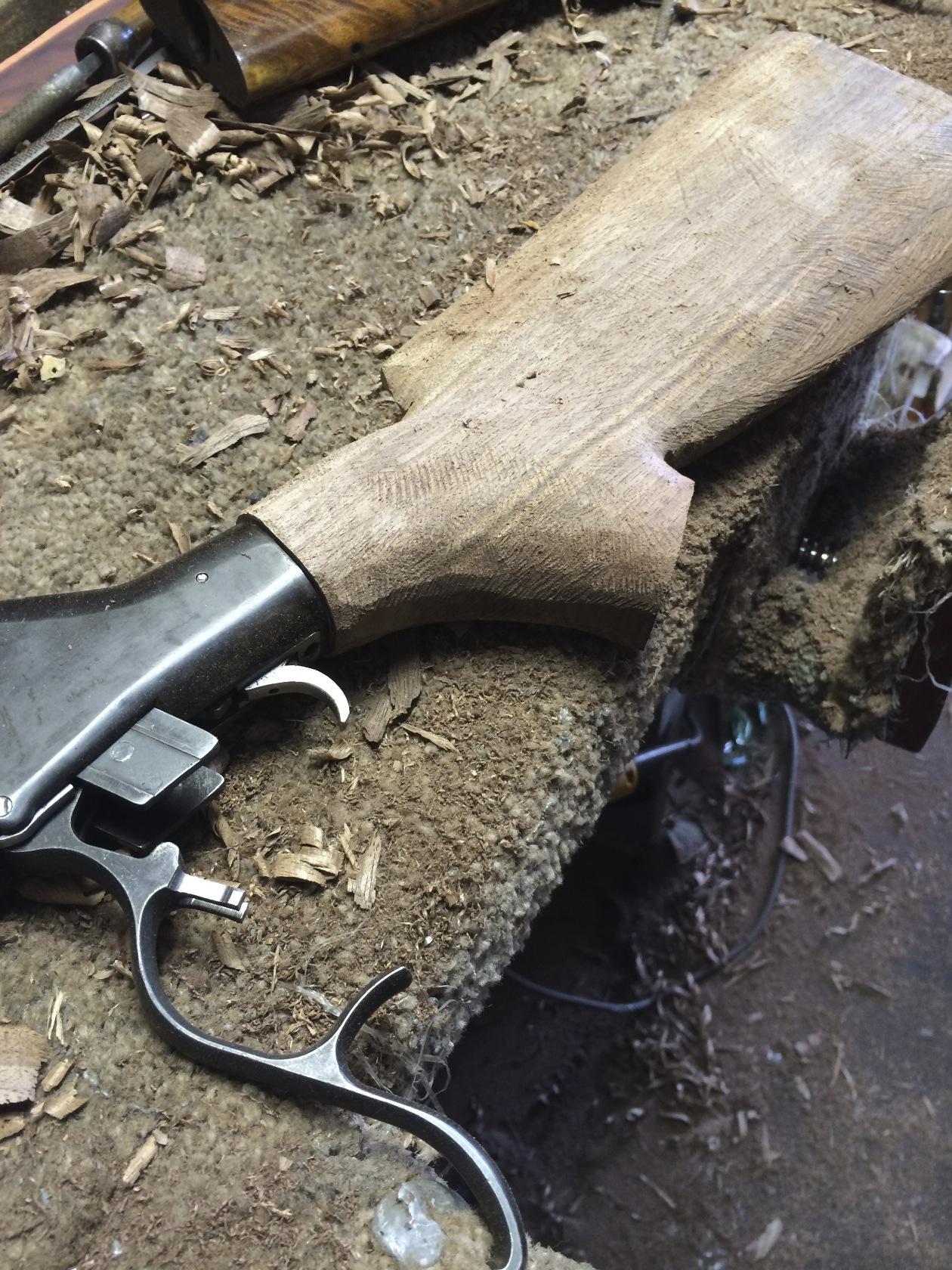Single Shot Bo Clerke Rifle   Doan Trevor Custom Rifle ...